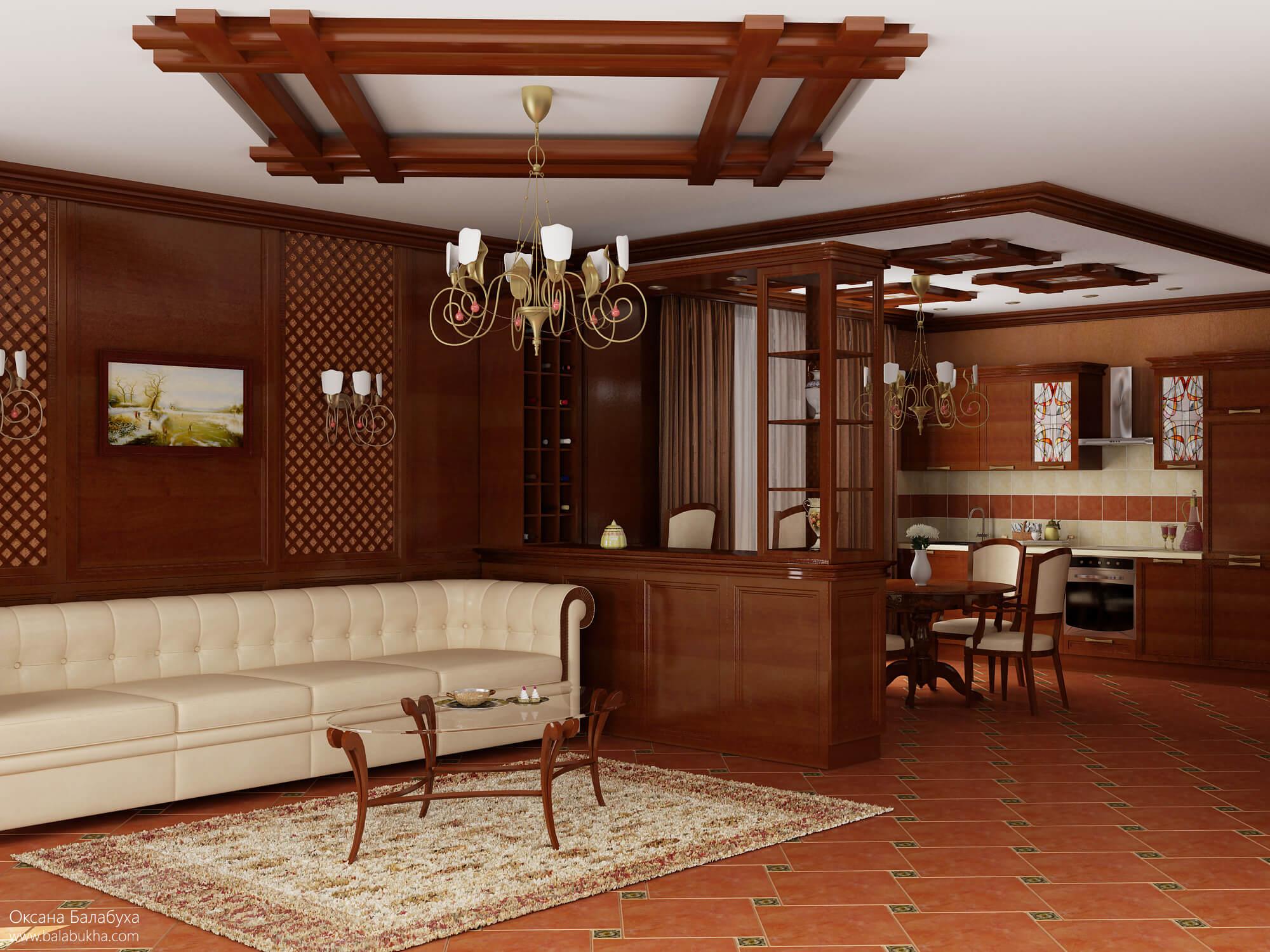 интерьер гостиной в небольшой квартире