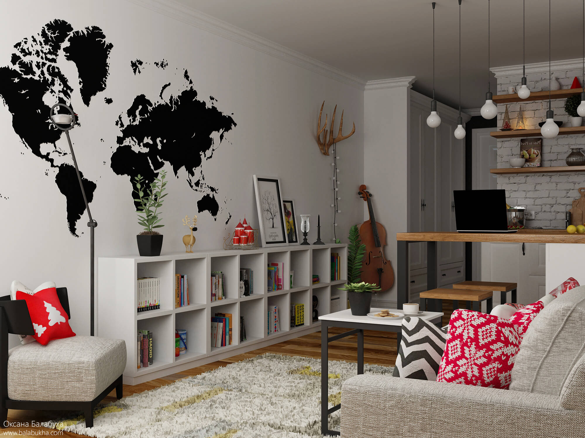 Перепланировка 3х комнатной квартиры