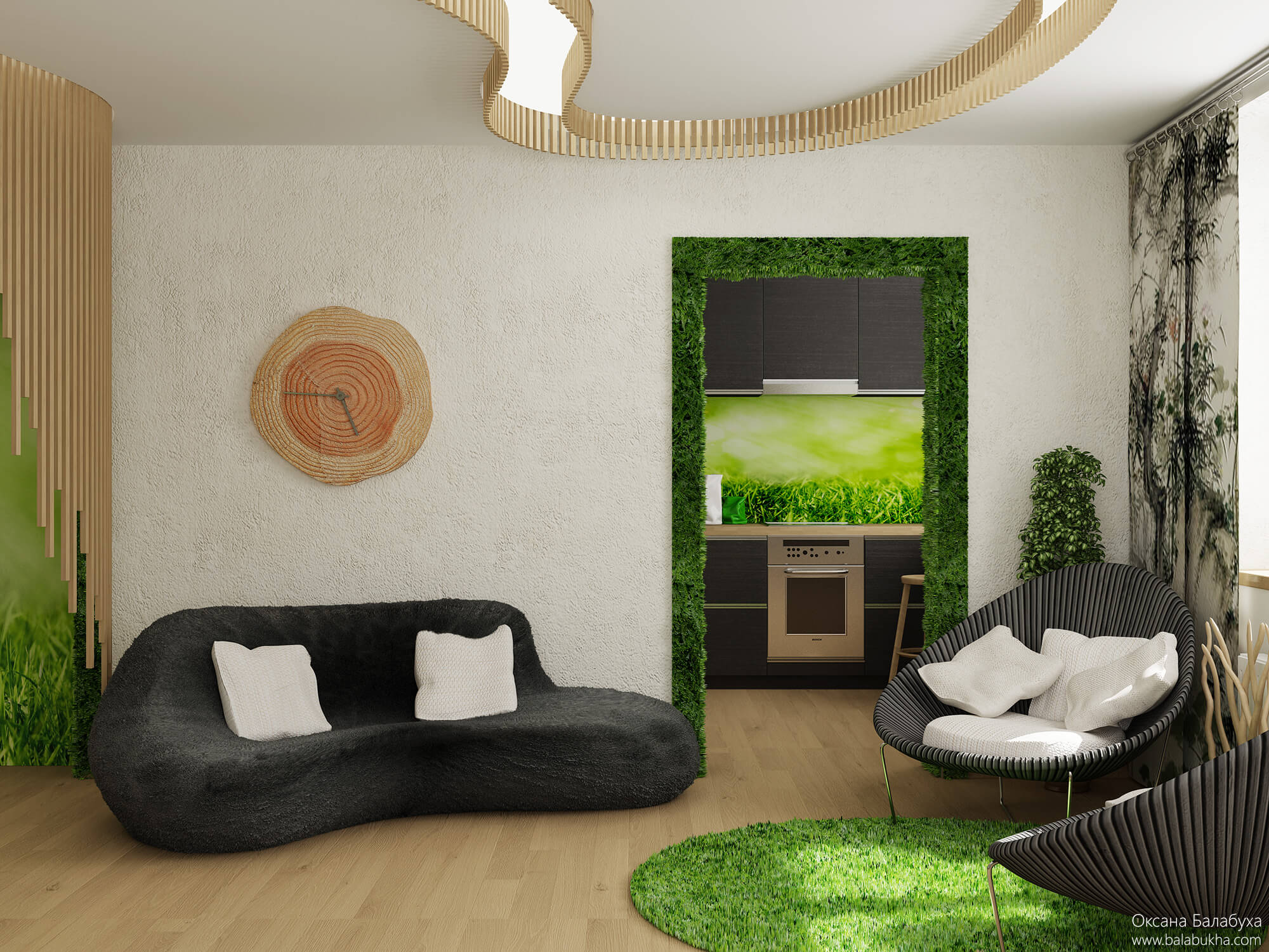 цветовое оформление комнаты
