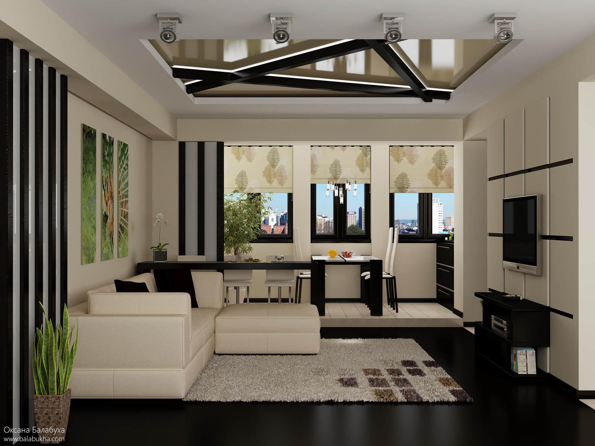 перепланировка трехкомнатных квартир